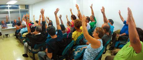 Assembleia aprova incorporação de mais trabalhadores à base