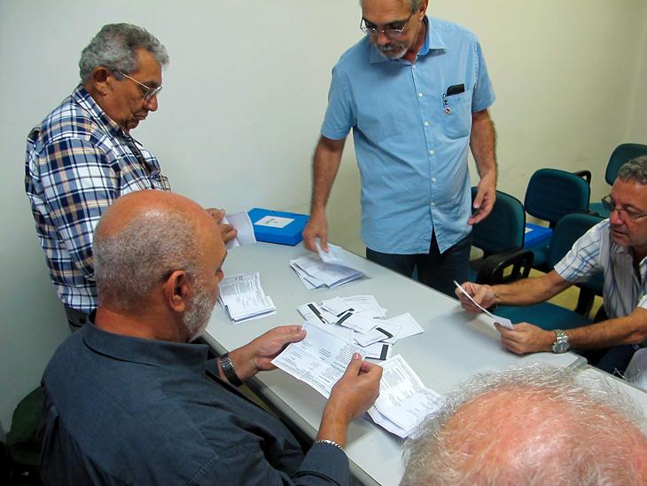 A apuração, presidida pelo presidente da UGT-RJ, Nilson Duarte Costa, contou com a participação de Manoel Meireles, presidente da Fetherj, e do coordenador das eleições, Paulo Henrique Vidal.