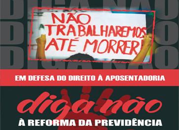 """22 de março: Dia Nacional de Luta contra a """"reforma"""" da Previdência"""