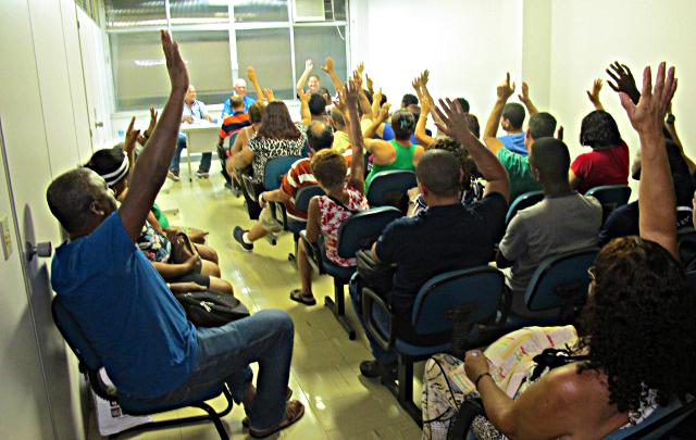 Assembleia define pauta de reivindicações para a Convenção Coletiva deste ano