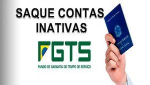 Saque em contas inativas do FGTS vai de março a julho