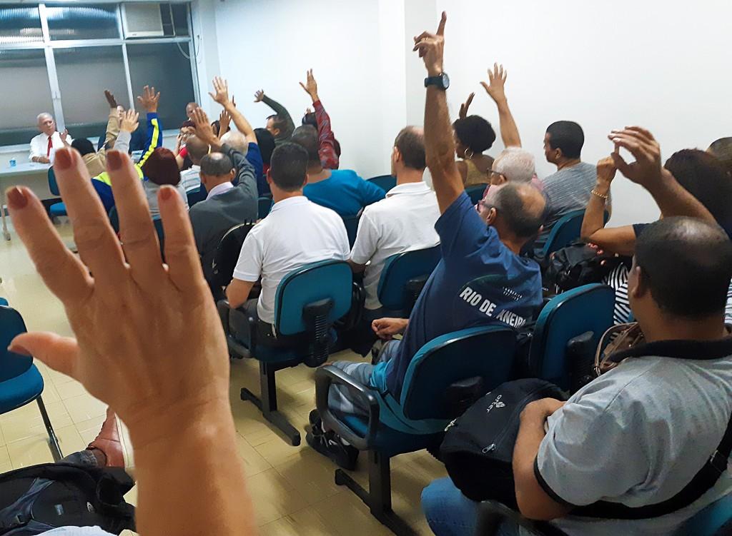 Assembleia aprovou a Convenção Coletiva em 9 de agosto de 2018