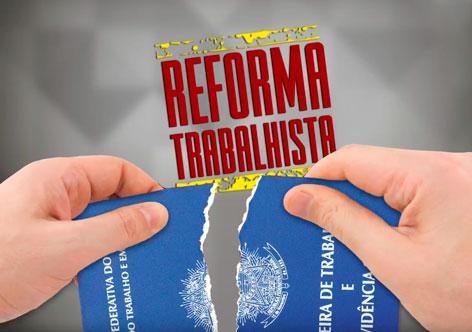 """""""Reforma"""" trabalhista valerá a partir de novembro"""